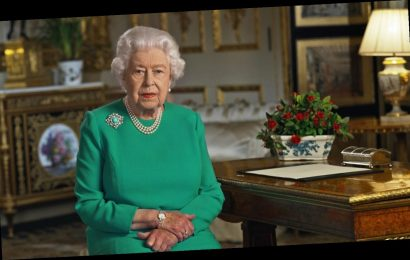 Queen Elizabeth II offered a lovely, recorded Easter message for the first time