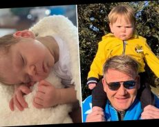 Gordon Ramsay shares adorable snaps of baby son Oscar on his first birthday – The Sun