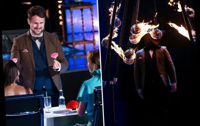 Scientist comes closer to death than any other BGT act when trick involving flaming pendulums goes dangerously wrong – The Sun