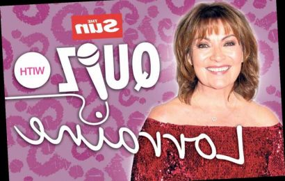 Join The Sun's Lorraine Kelly for a big quiz night in tomorrow night – The Sun
