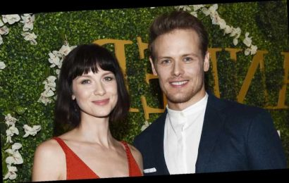 Caitriona Balfe Voices Support for Sam Heughan After He Speaks Out Against Bullies