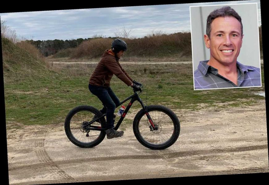 Cyclist who angered Chris Cuomo is father of Johns Hopkins doctor