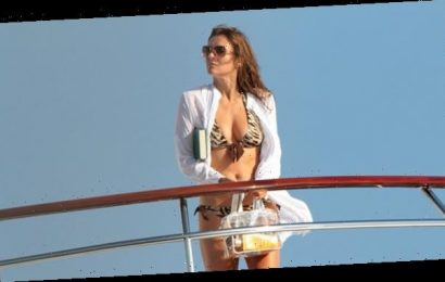 Liz Hurley, 54, Provides Much-Needed Distraction In A Sexy Bikini & Admits She Wants To 'Fall In Love'
