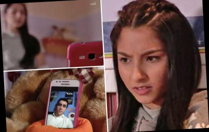 Coronation Street: Asha's sexting scandal explained as her video goes viral
