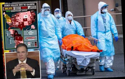 Coronavirus kills more in New York state than died in NYC on 9/11 with 2,935 deaths – including record 562 in a DAY – The Sun