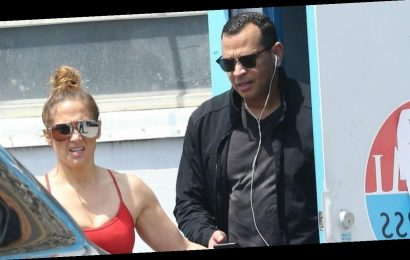 Jennifer Lopez & Alex Rodriguez Work Out Ahead of Statewide Lockdown