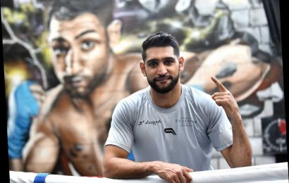 Coronavirus: Amir Khan pushes dangerous conspiracy theory that disease 'man-made while they test 5G'