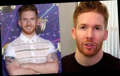 Neil Jones: Strictly pro reacts after 'random' Come Dine With Me appearance revealed