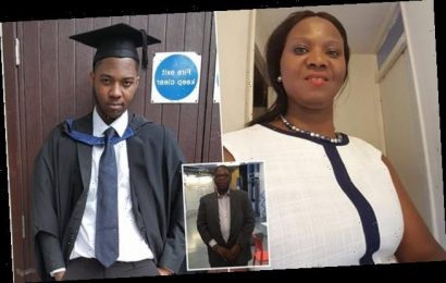 Mother tells of her 'unimaginable' pain at losing her son and husband