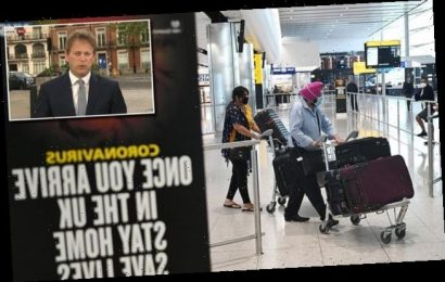 Grant Shapps says foreign arrivals could face quarantine