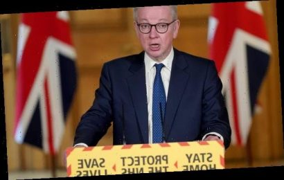 So much for 100k per day! Michael Gove says Covid testing down to 76k