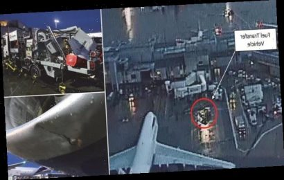 British Airways plane collided with refuelling vehicle at Heathrow T3