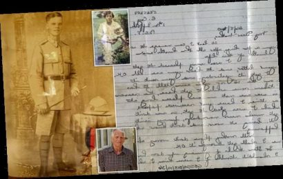 Family of British soldier killed at Dunkirk receive his last letter