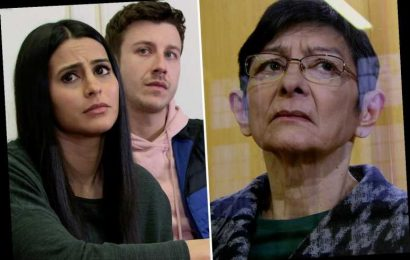 Coronation Street first look as Yasmeen faces court after trying to kill abusive husband Geoff – The Sun