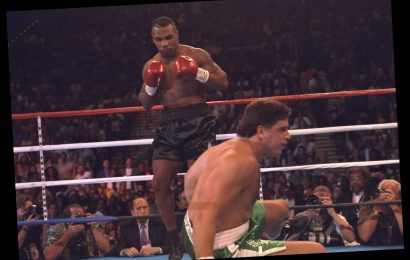 Mike Tyson offered £900,000 for Peter McNeeley rematch as mega money offers for comeback fight aged 53 pour in – The Sun