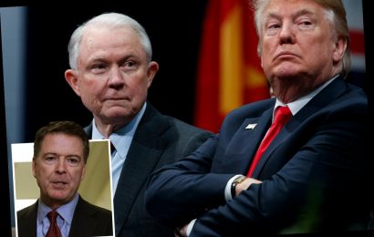 Jeff Sessions blasts James Comey as 'driven by ego' & lacking 'self-discipline & judgement' in letter to Alabama – The Sun