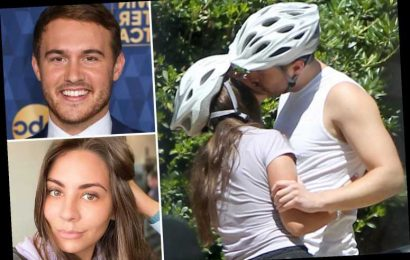 Bachelor's Peter Weber kisses girlfriend Kelley Flanagan on L.A. tandem bike ride after confirming they're a couple – The Sun