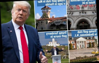 Trump Organization has 'pocketed nearly $1MILLION in taxpayer cash for government room rentals of Trump properties' – The Sun