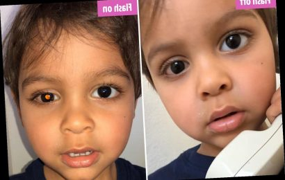 Mum whose son lost an eye to cancer shares how a photo can pick up the disease as she urges parents to know the signs