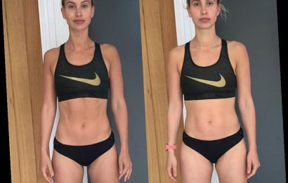 Ferne McCann shows off her ripped abs in sports bra after three-week weight loss challenge – The Sun