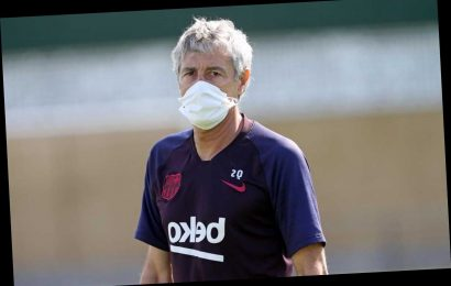 Barcelona boss Setien moans that five subs will be bad for Messi and Co as it ruins tactic of wearing teams down – The Sun