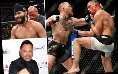 Six fights for Conor McGregor including Masvidal, Diaz and De La Hoya as UFC superstar prepares to get back in action – The Sun