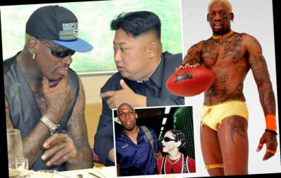 Dennis Rodman's mad world, from dating Madonna, to breaking his penis three times and being friends with Kim Jong-un – The Sun