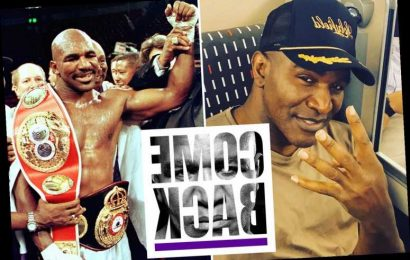 Evander Holyfield hints at shock comeback aged 57 with cryptic tweet after Mike Tyson announces plans to return to ring – The Sun