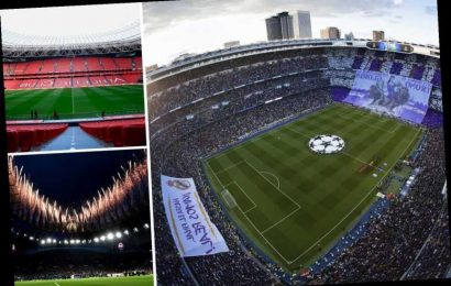 Top 25 best football stadiums around world including Bernabeu, San Mames… but Tottenham's £1bn ground down in 21 – The Sun