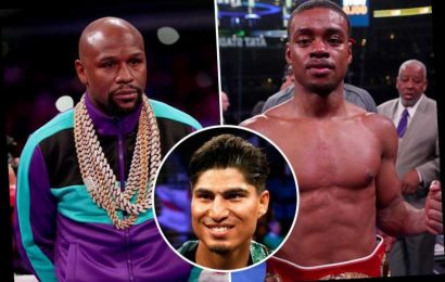 Floyd Mayweather is still best boxer on planet at 43 and would BEAT pound-for-pound star Errol Spence Jr, says Garcia – The Sun