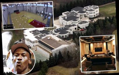 Inside Michael Jordan's £12m house he's been selling for EIGHT years with basketball court, cigar lounge and No 23 gates – The Sun