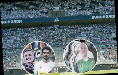Life-size cardboard cut-outs with photos of 12,000 real fans stuck on fill stadium of Bundesliga club as action resumes – The Sun