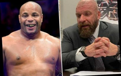 Daniel Cormier has held talks with WWE over incredible switch from UFC after his final fight, Triple H confirms – The Sun