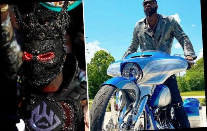 Deontay Wilder heads out on motorbike… but fans joke his jacket 'looks heavy' after Tyson Fury ring walk outfit excuse – The Sun