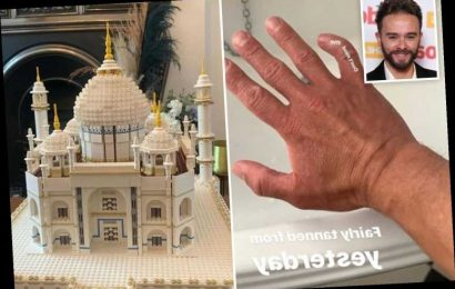 Coronation Street's Jack P Shepherd shows off 'bent finger' after building Taj Mahal out of 6000 LEGO pieces – The Sun