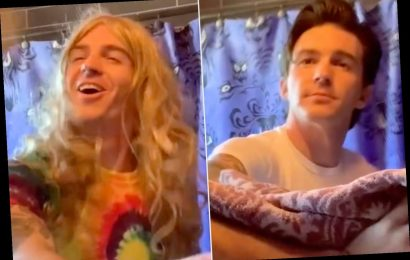 Drake Bell Just Did the TikTok 'Wipe It Down' Challenge with a Callback to His Nickelodeon Days