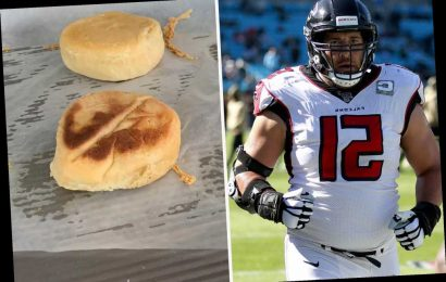 Falcons star Alex Mack has become bread-baking expert in quarantine