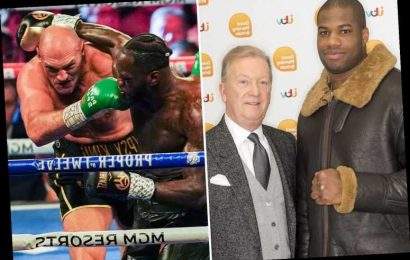 Frank Warren wants to make Daniel Dubois vs Deontay Wilder after Tyson Fury trilogy fight… and backs Brit to win – The Sun