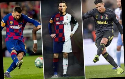 Cristiano Ronaldo's right foot, Lionel Messi's left foot… how rivals combined would make the perfect footballer – The Sun