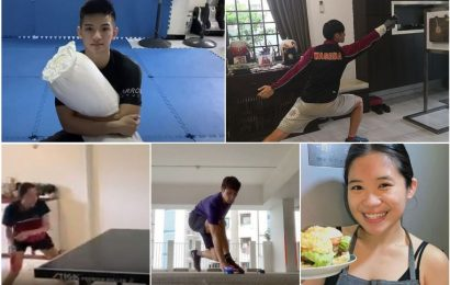 On home ground: How Singapore athletes are staying fit and sharp during Covid-19 circuit breaker