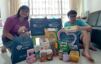 FairPrice, P&G deliver 500 care packs to mums of Special Olympians to celebrate Mother's Day