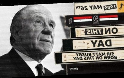 Manchester United legend Matt Busby – in his own words
