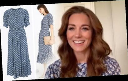 Kate Middleton wears £36 Marks & Spencer dress to discuss kindness with children in video