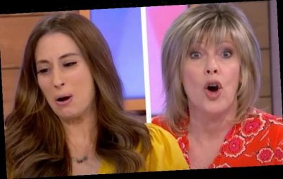 Ruth Langsford shocks Loose Women panel with racy admission: 'I like it'