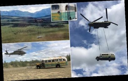 Abandoned bus made famous by Into The Wild is removed