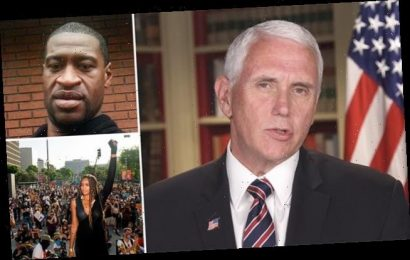 Mike Pence says 'all lives matter' when asked about George Floyd