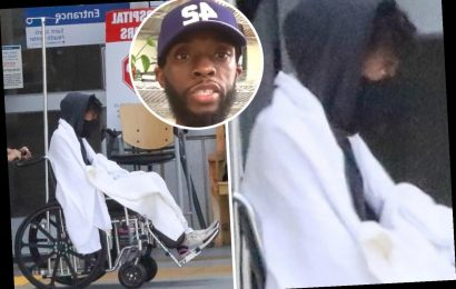 Chadwick Boseman gets dropped off at the ER in new photos two months after fans worried over extreme weight loss – The Sun