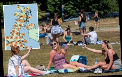UK weather forecast – Britain hotter than IBIZA today with 28C sizzler before thunderstorms trigger 10C drop – The Sun