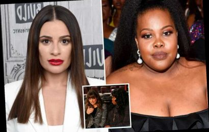 Lea Michele called Glee co-star Amber Riley after bullying claims- but actress 'doesn't give a s**t' about apology