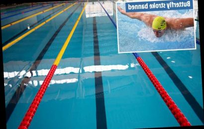 Swimmers must arrive in their costumes and avoid butterfly stroke when pools reopen as lockdown eases